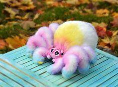 Lovely handmade toys by AlvamadeToys on Etsy - sculptures & poseable art dolls - Pregnancy Ideas Cute Fantasy Creatures, Cute Creatures, Magical Creatures, Creepy Cute, Handmade Toys, Cute Baby Animals, Pet Toys, Baby Toys, Plushies