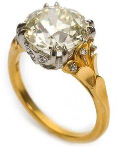 Vintage diamond from McTeigue & McClelland