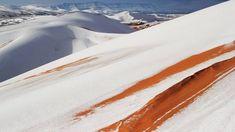 Havazott a Szaharában, fehérbe borult a sivatag | Sokszínű vidék
