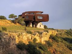 Robert Bruno's steel house in Lubbock - Texas - USA
