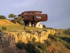 Robert Bruno's steel house (Lubbock, Texas)