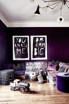 Royal Room - 15 Reasons Why You Need To Paint Your Walls A Jewel Tone - Photos