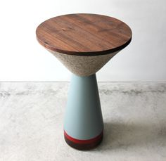 Pedestal Table by Canadian designer Zoe Mowat