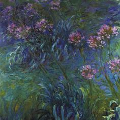 Jewelry Lilies Posters by Claude Monet at AllPosters.com