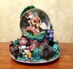 disney snow globes | Disney Tarzan - Disney Collectible Snow Globes by Junk.N.SoFine