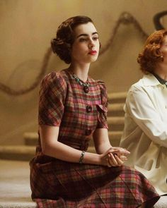 """Lily Collins in The Last Tycoon, 2016"""