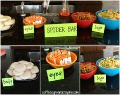 Make Your Own Spider Bar for a Party or Play Date!