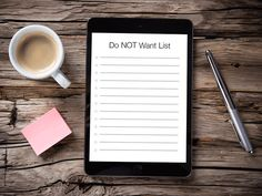 """Identifying Your """"Do NOT Want"""" List for the Perfect Home"""