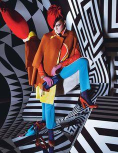 Vanity Girl: W MAGAZINE: KALEIDOSCOPIC HIP POP EDITORIAL