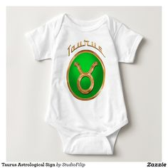 Taurus Astrological Sign Infant Creeper