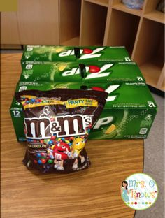 M&M's and 7up on the First Day: Consequences, Writing, and Learning About Your Students - Mrs. O Knows