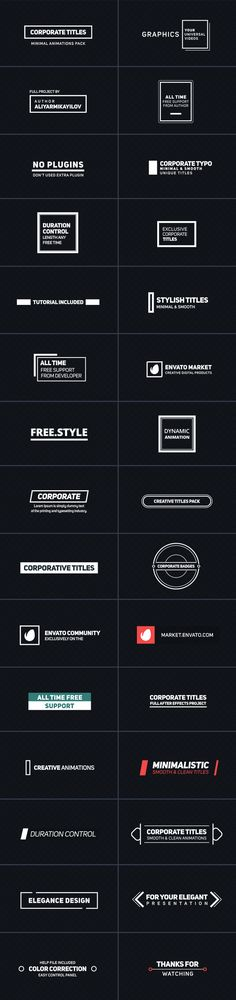 Buy Corporate Titles by aliyarmikayilov on VideoHive. 30 Title Animations All are UNIQUE! After Effects (Text and Shapes) Full HD Resolutions (upgrade any size) Adob. Banner Design, Layout Design, Typography Layout, Lettering, Typographie Fonts, Text Layout, Freestyle, Grafik Design, Motion Design