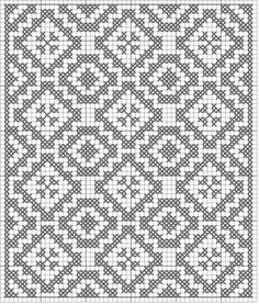 Filet crochet patterns & tutorials.