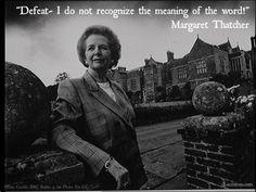Honoring Margaret Thatcher