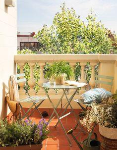 7.Terraza con plantas y pequeña mesa redonda de exterior-00442270