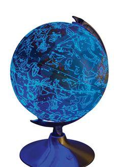 Color Azul Cobalto - Cobalt Blue!!! Globe
