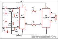 Touch On And Off Switch Circuit Diagram And Working Mini