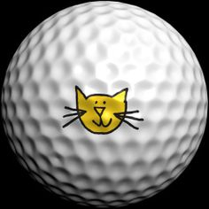 Happy Cat Golfdotz Style - We love Golfdotz!  So easy to use!