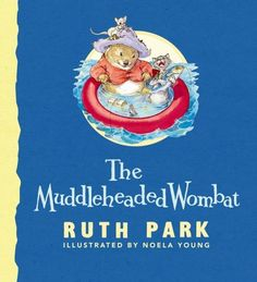 Now in our home library...Miss Munchkin & I found a beautiful old edition in a second-hand bookshop. The Muddle-Headed Wombat