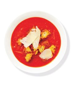 Warm up with a bowl of your favorite winter comfort food. Here, find tomato, chicken, vegetable, and more quick soup recipes.