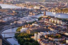 Kungsholmen och City - Stockholm
