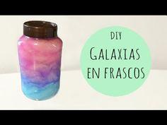 DIY - Galaxias en frascos -Tutoriales Belen
