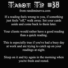 tarot tip 38