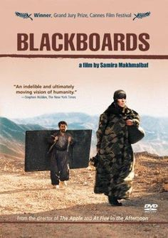 Blackboards (Samira Makhmalbaf) / HU DVD 1035 / http://catalog.wrlc.org/cgi-bin/Pwebrecon.cgi?BBID=5954524