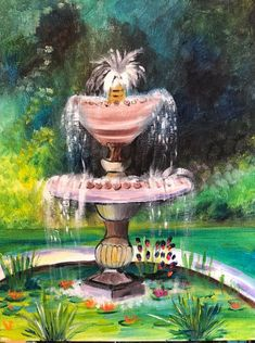 Paint Along -- the new socialising with creative twist Entertainment Ideas, Paint Party, Corporate Events, Fountain, Entertaining, Creative, Outdoor Decor, Fun, Painting