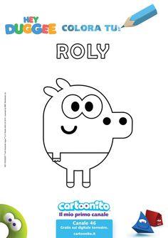 Stampa e colora il simpatico Roly