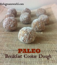 paleo_breakfast_cookie_dough  @thebigmansworld