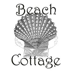 The Cottage Market: Free Graphic Beach Cottage