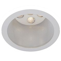 """LEDme 4"""" Spackle Round Trim with Baffle by WAC Lighting at Lumens.com"""