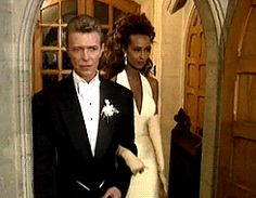 On June 6, 1992 David Bowie and Iman were married in a church service at the American Church of St James in Florence, Italy.