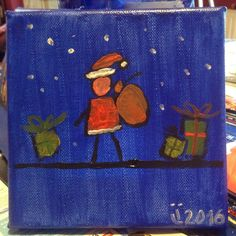 Christmas is coming soon. Did you shop for gifts yet. How about a painting?