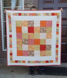 Charming Baby Quilt 42 x 42