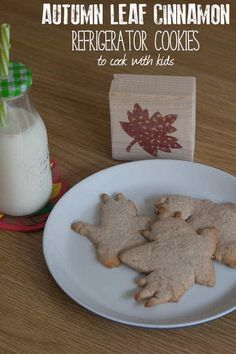 Delicious, easy recipes for autumn baking and cooking with kids. Leaf and Tree themed treats that fit the season and are fun to make together. Vegan Cooking Classes, Cooking Classes For Kids, Cooking School, Cooking With Toddlers, Delicious Desserts, Yummy Food, Leaf Cookies, Fall Cookies, Cooking Quotes