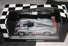 MINICHAMPS 1:43 AUDI SPORT UK R8 SEBRING 12 HOURS 2003 McCARTHY LIMITED 1200