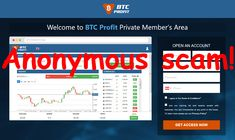 Bitcoin Profit is an anonymous scam! Ways To Earn Money, Earn Money From Home, How To Make Money, Popular News, Money Today, Lost Money, One In A Million, Social Networks, Anonymous