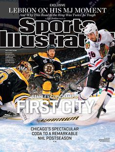 The Blackhawks will grace the cover of Sports Illustrated for the third time in 2013!