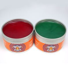 Atomic Pomade in Cinnamon and Mint is a high shine medium to light hold #pomade. Available at theGreaseShop.com