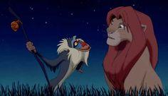 "Motivation – Rafiki and Simba Fun Fact: Rafiki means ""friend"" in Swahili. And Rafiki is one of the the best rafikis out there! The Lion King 1994, Lion King 2, Lion King Movie, Disney Lion King, Simba Lion, Childhood Movies, Pixar Movies, Disney Films, Disney Pixar"