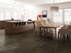 Stone Tiles, Kitchen Tiles, Kitchen Island, Home Decor, Porcelain Tiles, Natural Stones, Floors Of Stone, Island Kitchen, Decoration Home