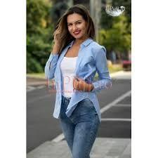 Imagini pentru camasa casual bleu dama