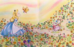 ✏︎✏︎✏︎2016.6.8.wed . . 2人が寝てる間にぬりえ。 新しい塗り絵も可愛い❤️ これは順番に進めていこう。 他のもまだあるけど アリスの「バタつきパンチョウ」 ずっとバターじゃなくてハチミツついてんだと思ってた。 . . #大人の塗り絵 #ぬりえ #ぬり絵 #塗り絵 #coloringbook #coloring #コロリアージュ #クーピー #パステル #色鉛筆 #disney #ディズニー#ディズニープリンセス #不思議の国のアリス #アリス #aliceinwonderland #ディズニーガールズ #ディズニーガールズカラーリングブックスペシャルエディション #塗り絵の記録 #自己満 . . .