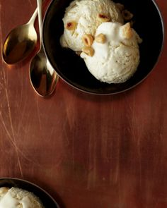 Maple-Brown-Butter Semifreddo