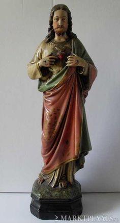 Heilig Hart Beeld ( Jezus / Maria )