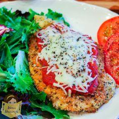 Menu Musings of a Modern American Mom: Baked Chicken Parmesan