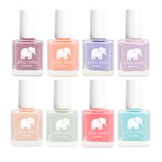 BonBon Collection - I really enjoy using this brand :] this and Julep are my favorite natural nail polishes.