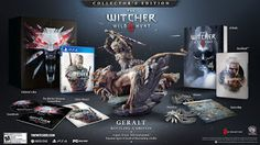 here new news new.blogspot.com: The Witcher: Wild Hunt Collector's Edition - PlayS...